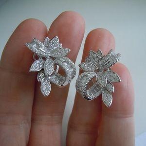 Jewelry - Cubic Zirconia & 925 SS Earrings